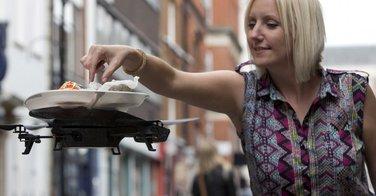 Des sushis servis par drone