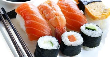 Les différents types de sushis