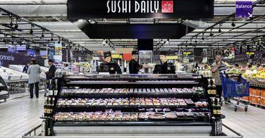 Sushi Daily envahit les hypermarchés carrefour