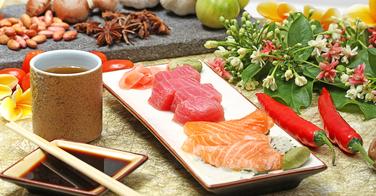 Combien de calories dans un sashimi ?