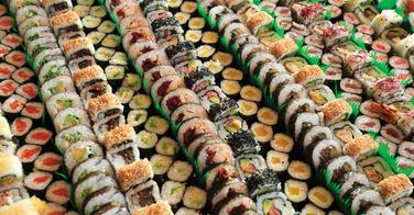 Buffet de sushis à volonté