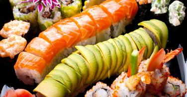 Le maki au saumon
