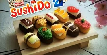 Sushido, des donuts en forme de sushis