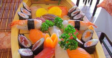 Le poisson cru au restaurant japonais