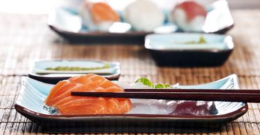 Préparer des sashimis