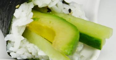 Idées de sushis végétariens
