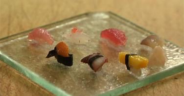 Le plus petit sushi du monde