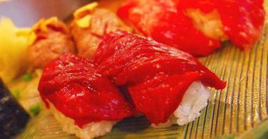 Des sushis à la viande de cheval servis au Japon