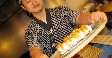 Dans les pas d'un vrai sushiya