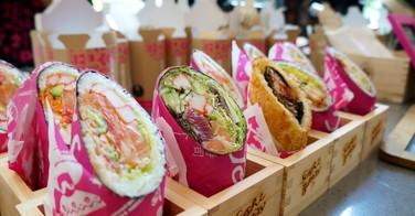 Le sushi-burrito : la nouvelle passion des Américains