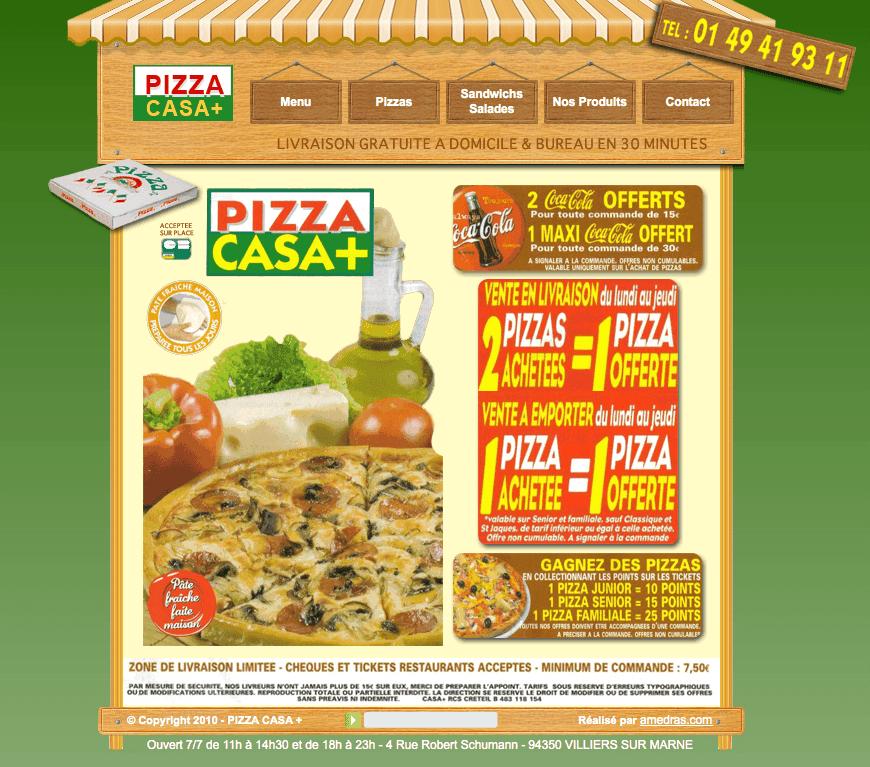Pizza Casa Plus - Meilleur kebab Villiers-sur-Marne